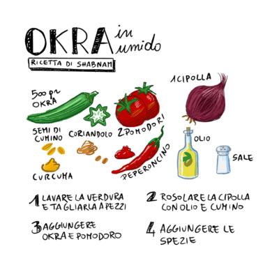 ricetta Okra