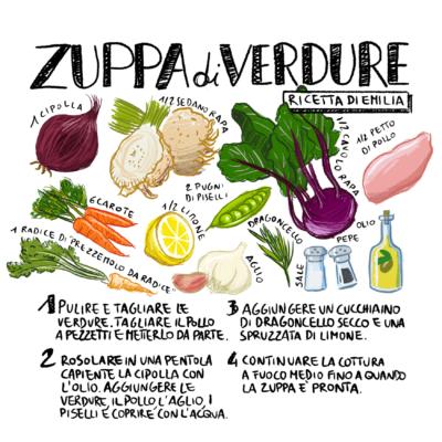 ricetta Zuppa di verdure