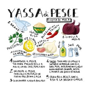 ricetta yassa di pesce