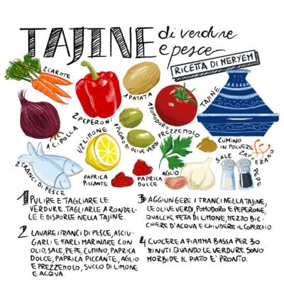 ricetta Tajine